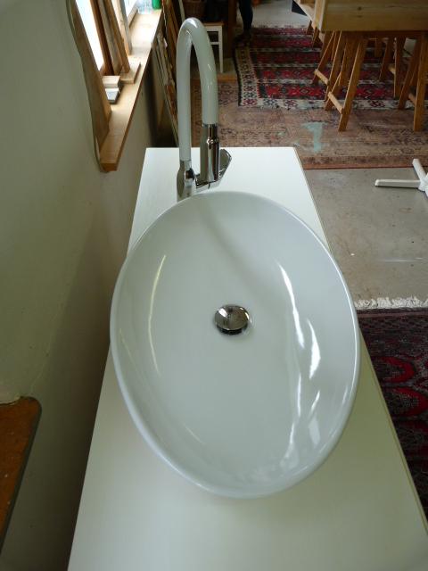 Kommode mit Waschbecken