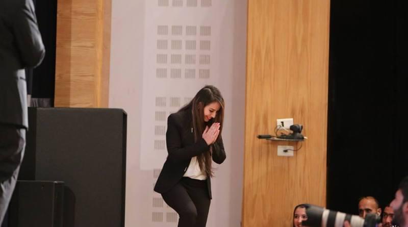 الناشطة الشبابية ولاء أبو شلبك والإعلامية ريما العملة قدمتا الكثير فاستحقين التكريم
