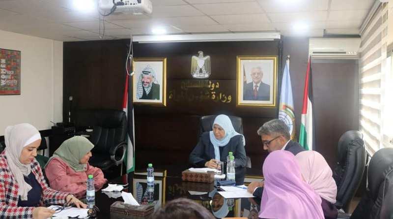وزيرة المرأة تبحث سبل التعاون المشترك لتضمين النساء ذوات الإعاقة في الخطط عبر القطاعية