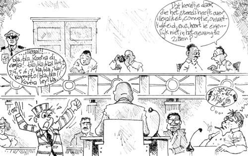 Bonje in het Parlement | Antilliaans Dagblad