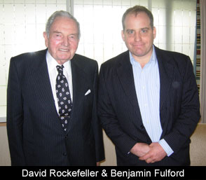 Benjamin Fulford and David Rockefeller