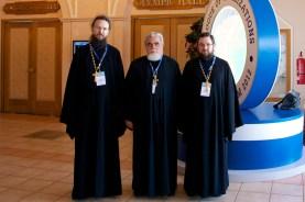 О. Павел Великанов, о. Николай Соколов, о. Сергий Звонарев