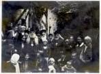 Архиепископ Серафим (Соболев) с духовенством и верующими