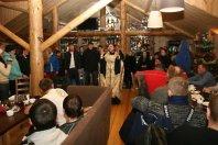 19 января 2012 г. О. Димитрий (Першин) освящает массовое купание членов клуба «Мотоманьяки».