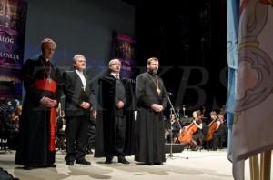 Униаты, католики и протестанты приняли участие в Экуменическом концерте в Кошице 17 октября 2013 года
