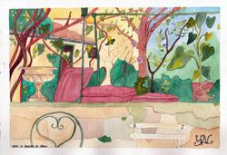 Le jardin de Léran en Ariège