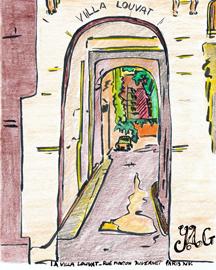 Villa Louvat à Paris quatorzième - Paris 14