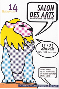 Salon des arts de Paris 14ème