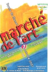 le 6ème marché de l'art de Montigny le Bretonneux
