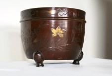 Paire de caches pots à Bonzaï, Japon Période Meiji