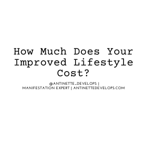 How Much Does Your Improved Lifestyle Cost?