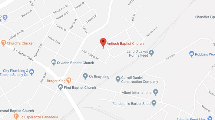 Antioch Baptist Church   Gainesville, Ga   Prayer Request