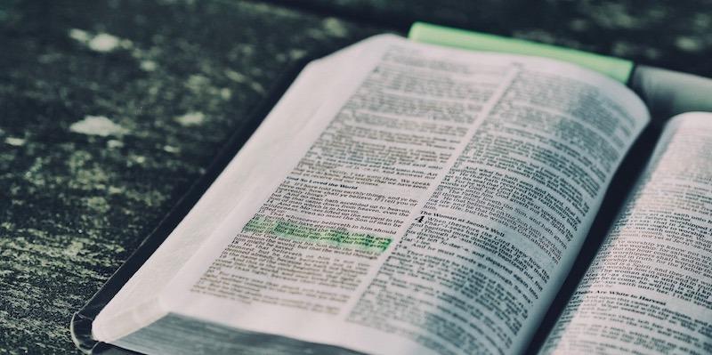 Pray through God's Word