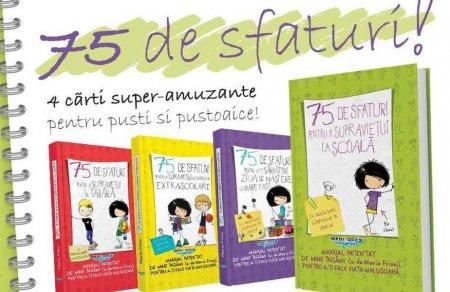 """Cărți interzise părinților: """"Dacă vrei ca părinții să îți cumpere ceva, spune ca e pentru școală"""""""