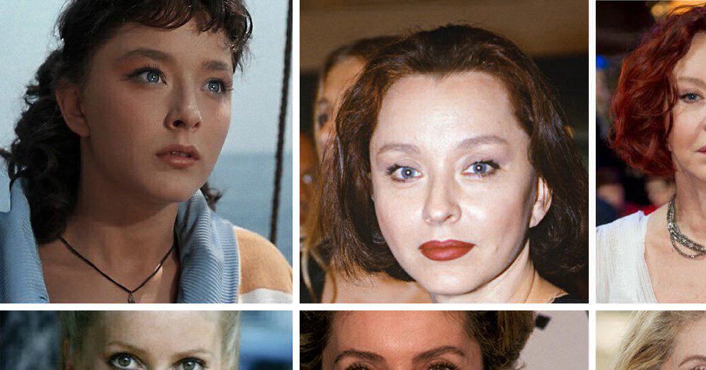 Актрисы СССР и Голливуда тогда и сейчас