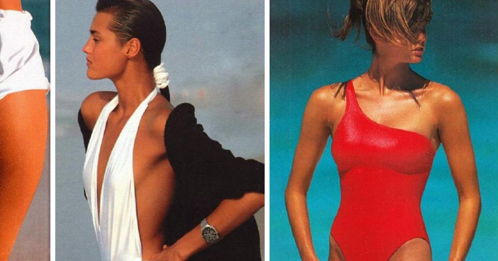 Как выглядели модели до эры фотошопа и пластики?