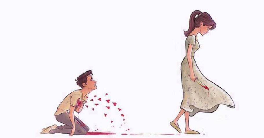 Эти иллюстрации будут вам очень близки, если вы были хоть раз влюблены
