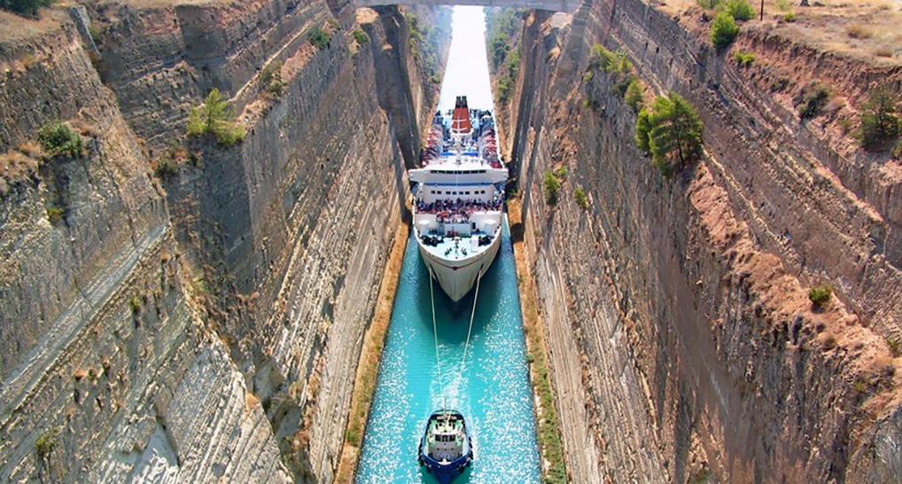 Самый узкий судоходный канал в мире, по которому не каждый круизный лайнер сумеет пройти