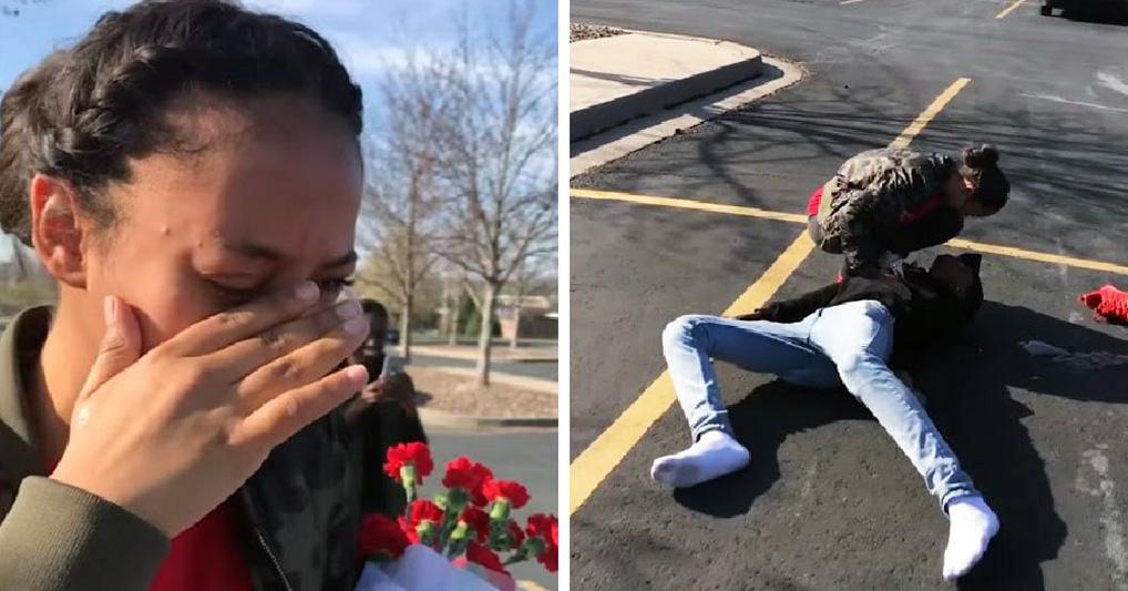 Девушка поставила парню условие: пойду на выпускной, но только если пригласишь так, чтобы я расплакалась