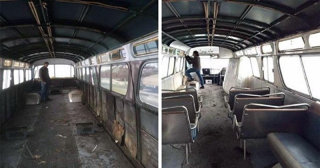 Девушка за три года превратила старый автобус в роскошные апартаменты