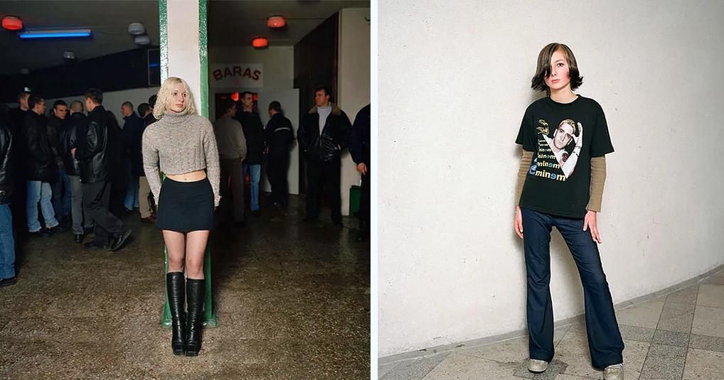 Деревенские дискотеки 90-х в обьективе литовского фотографа. Очень атмосферные снимки