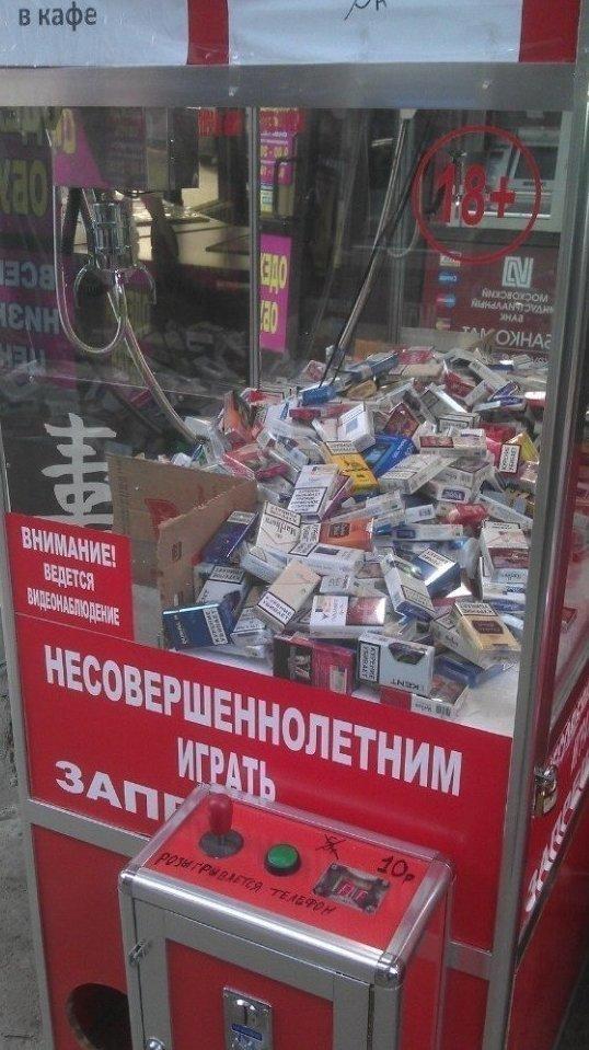 Подборка, которая удивит даже самых заядлых курильщиков