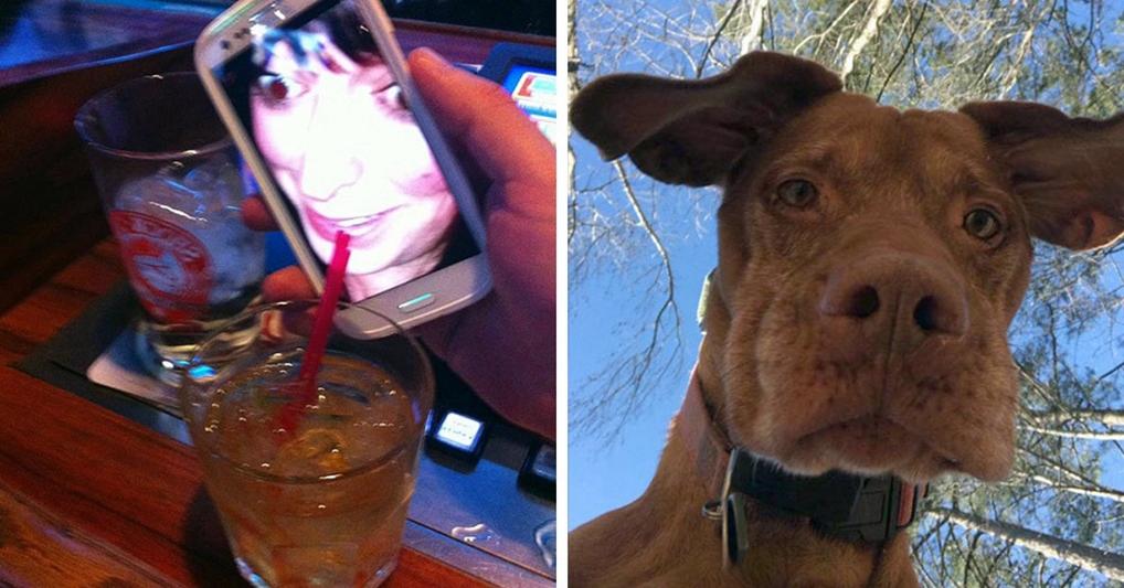 Таинственные снимки, которые люди нашли в своих телефонах