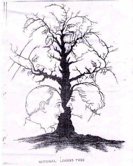 Сколько лиц вы находите на этой картинке?