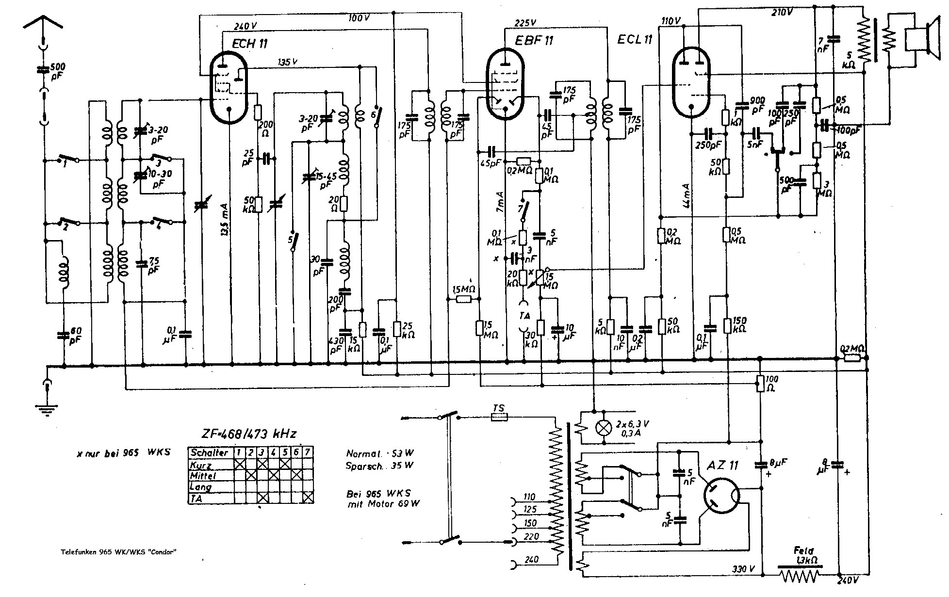 hight resolution of radio circuit diagram