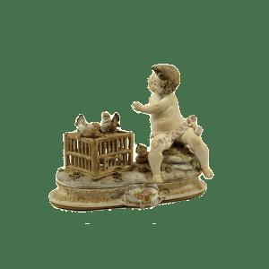 Statuetta in porcellana Capodimonte