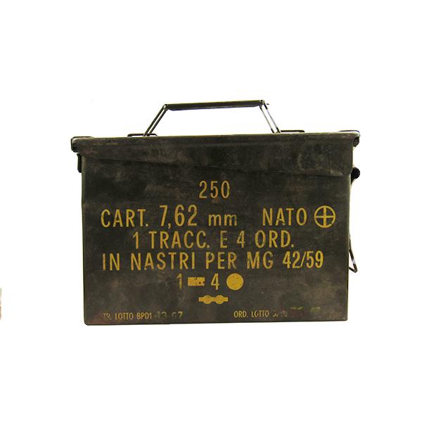 Contenitore militare per munizioni
