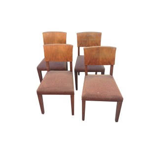Set di 4 sedie anni 50