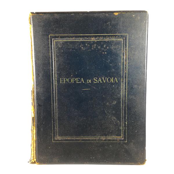 L'epopea di Savoia, G. Manzoni