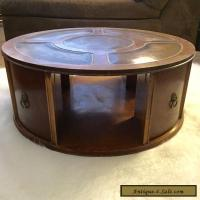 Imperial Mid century Mahogany Coffee Drum Table Duncan ...