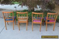 4 Mid Century Modern Drexel Dining Chairs for Sale in ...