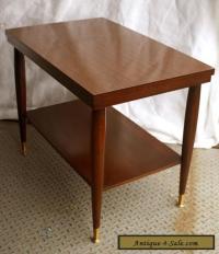 """Vintage Mid Century Modern """"Mersman"""" Mahogany Wood Formica ..."""
