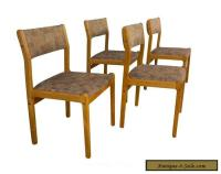 Moller Teak Dining Chairs Mid Century Danish Modern for ...