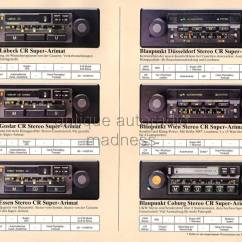 Wiring Diagram Of Car Stereo 2001 Ford F150 Remote Start Catalogue Blaupunkt 1980