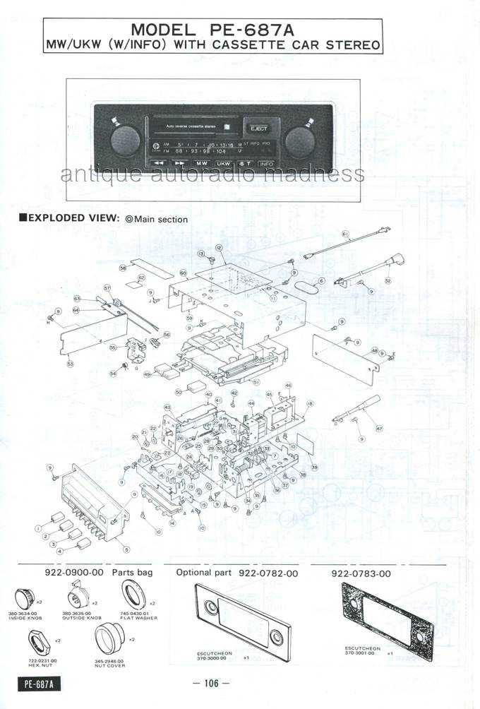 Autoradios anciens Clarion 1977 (3)