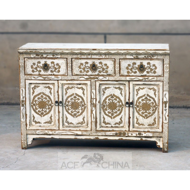 Touch of exotic painted buffet  ACF China