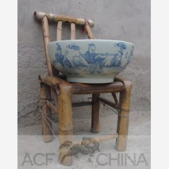 Buy White Kitchen Cabinets Out Door Large Round Chinese Blue And Porcelain Fish Bowl