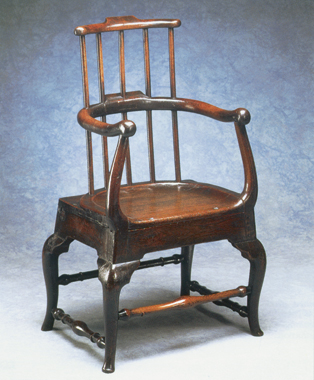 Unusual antique furniture. English country furniture.