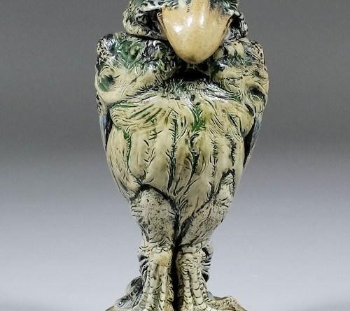A Martinware grotesque bird