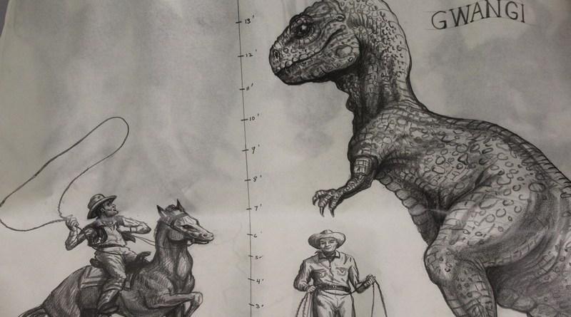 ray Harryhausen sketches