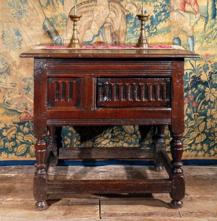 An antique James I table
