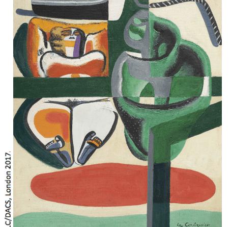 Le Corbusier Baigneuse, Barque et Coquillage