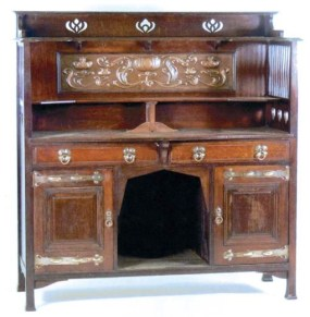 An Arts and Crafts Sideboard by Shappland and Petter