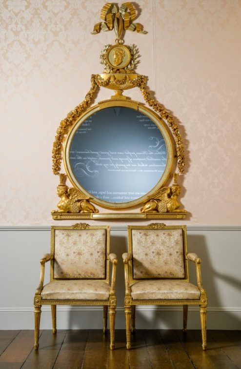 Thomas Chippendale mirror Harewood House