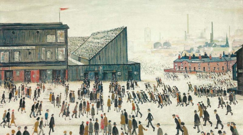 Going to the Match LS Lowry