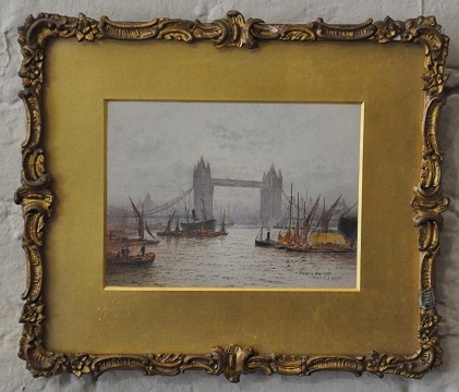 Goff London watercolour of Tower Bridge2